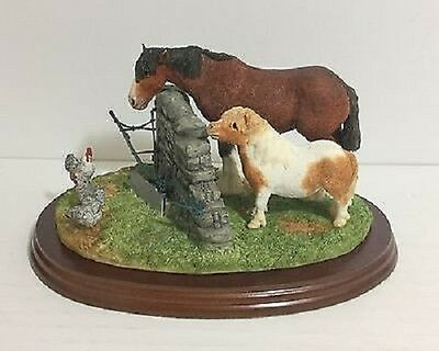 Border Fine Arts The James Herriot Studio Collection Out To Pasture A20100 Boxed