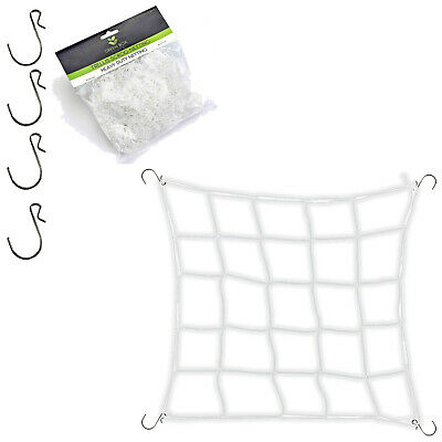 Hydroponics Indoor Grow Growing Tent Mesh Plant Support Scrog Netting 150mm 6""