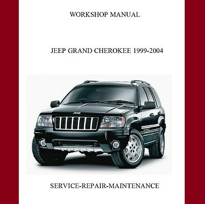New Jeep Grand Cherokee Wj 1999 - 2004 Complete Official Service Manual