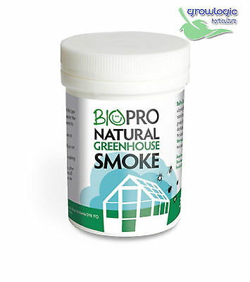 Biopro Natural Greenhouse Smoke Generator Growing Nutrient Aid And Bug Repellent