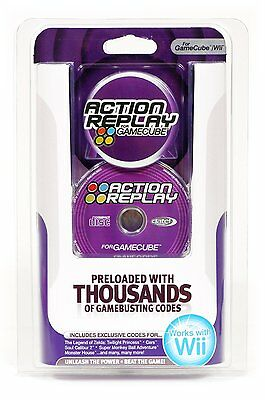 Action Replay for GameCube (for use on European consoles - PAL)