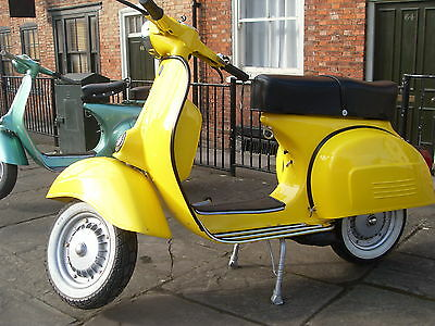 VESPA RALLY 200  in yellow