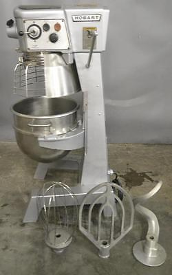 Used Hobart D-300T 30Qt Commercial Mixer Free Shipping!