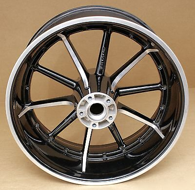 Harley Original Alu Rad Hinten 18X8 Wheel Custom Rear Wheels Softail Breakout