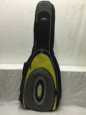Brand New Yellow Classical Guitar Padded Carry Case Gig Bag