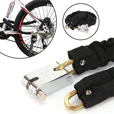 Heavy Duty Motorbike Motorcycle Scooter Bike Cycle Motor Bicycle Chain Pad Lock