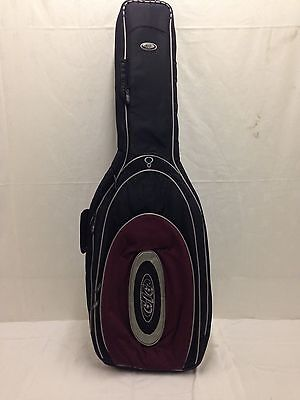Brand New Wine Electric Guitar Padded Carry Case Gig Bag