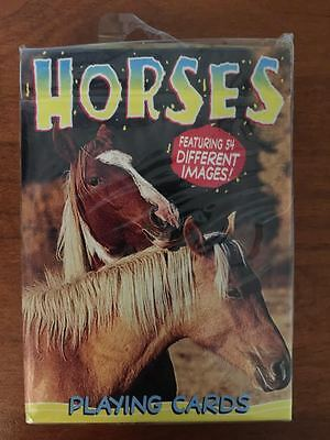 NEW Deck of Playing Cards - 54 Different Horse Images - Hoyle Horses Made in USA