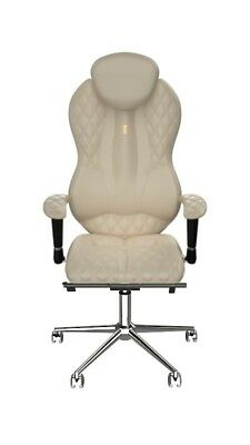 Ergonomic chairs for computer work, Premium Line, Hand-crafted, Eco Leather 0401