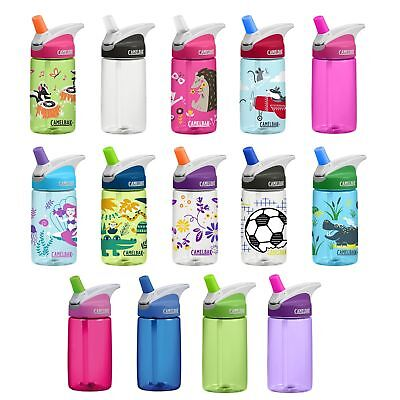 Camelbak Eddy Kids 400ml/12oz spill proof bottle 2017 design improved bite valve