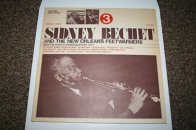 Sidney Bechet And The New Orleans Feetwarmers Vol 3 Vinyl LP NrMint Con