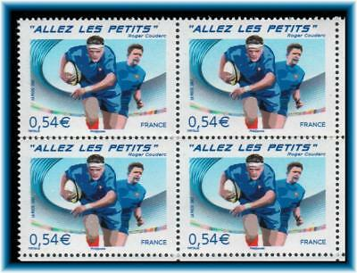2007 France World Cup Rugby Bloc Of 4 Sport Block Of 4 Scott 3310