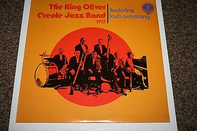 The King Oliver  Creole Jazz Band 1923 Vinyl LP NrMint Condition