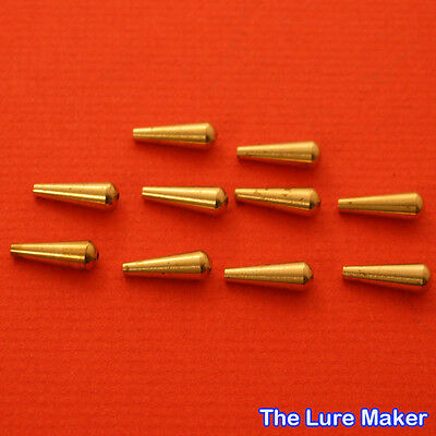 Brass Spinner Bodies 17mm 2g Flying C's Spinners Lures Body 101 Quanity 5 Or 10.