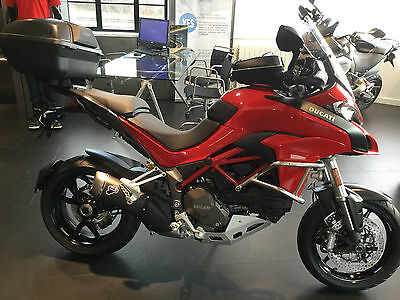 2017 New Multistrada 1200 Red With Accessories