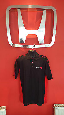 Genuine Civic Type R Men's Polo Shirt ( Size's From Small To Double X Large  )