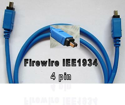 CABLE FIREWIRE IEE 1934 4 PIN-4 PIN 1m. DF-440