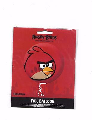 ANGRY BIRDS Red BIRD 18 inch 201314 Balloon free P & P UK
