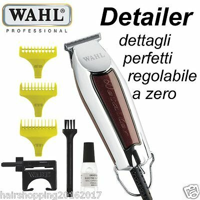 TOSATRICE WAHL DETAILER PROFESSIONAL CORDED TRiMMER RIFINITURA TAGLIO O OVERLAP