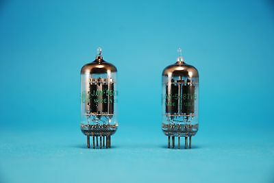 Pair GE  5687WB NOS Tested Double Triode Tubes Military Valves Rohres