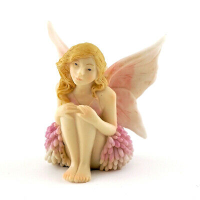 "2.25"" My Fairy Gardens Mini Figure - Reflecting Girl - Miniature Figurine Decor"