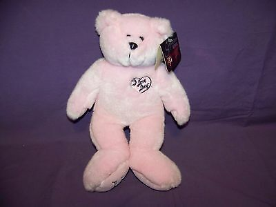 "I Love Lucy Signature Series Classic Collecticritters 12"" Pink Plush Bear NWT"