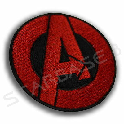 MARVEL THE AVENGERS COSTUME PATCH RED (ca. 5 cm KOSTÜM AUFNÄHER)