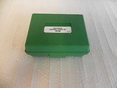 """GREENLEE 737BB Slug Buster1-1/2"""" to 2"""" empty case with 3/4"""" bolt, 767,746 NICE"""