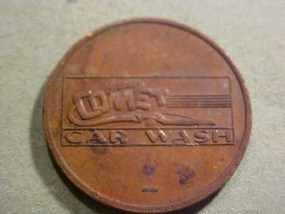Car Wash Token Comet Car Wash 25 Mm Brass