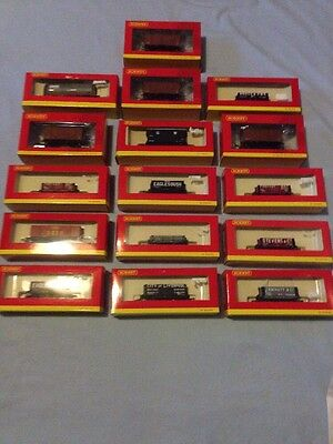 Hornby, Dublo Job Lot, 00 Gauge, Carriages And Wagons, All Boxed, 24 In Total