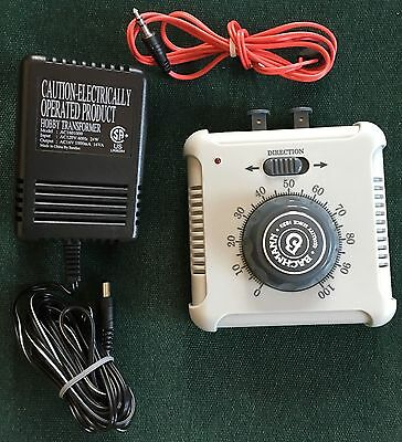 Backman Speed Controller With Power Supply And Red Wire #46605A