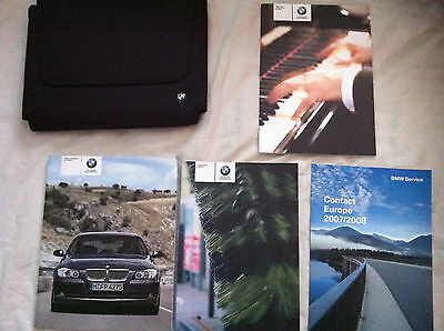 Bmw 3 Series Saloon/touring Owners Manual 07/08