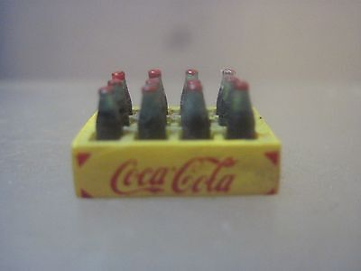 Miniature Yellow Coca-Cola Case