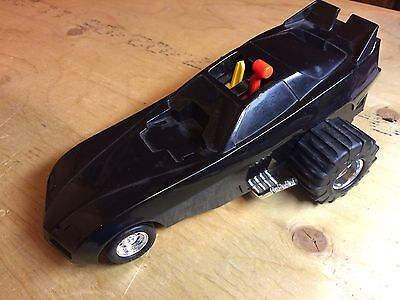 1985 Playskool Black warlord motorized Puller car bigfoot 4x4 sst hasbro parts