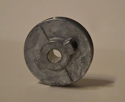 "Chicago Die Cast Single V Grooved Pulley A Belt w 2-1/2"" Dia X 1/2"" Bore"