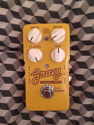 TC Electronic Gravy - Tri Chrous & Vibrato Effects Pedal