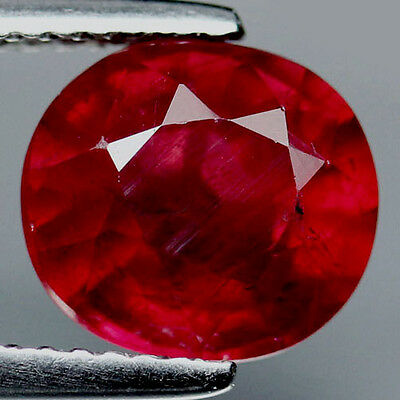 Rubin 9x8,3 Oval 3,7Ct!!!