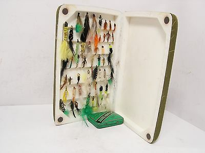 Orvis Soft Magnetic Fastening Fly Box & 51 x Reservoir Trout Flies