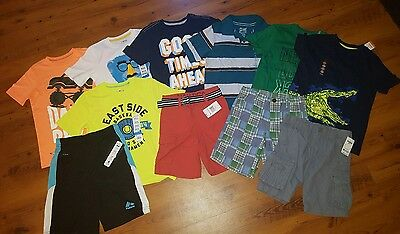 NWT Boys Spring / Summer Clothes Lot ~Size 5/6, 6~ Shirts Shorts New