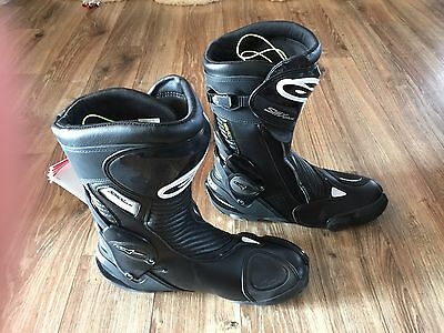 Alpinestars S-MX Plus Goretex Riding boots size 9.5 Black