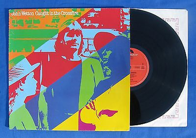 """John Wetton-""""Caught In The Crossfire Lp"""" Asia-UK-King Crimson-Yes-Music Records."""