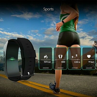 JAKCOM smart Band B3 with almost all functions of Pedometer Smart Watch&Earphone