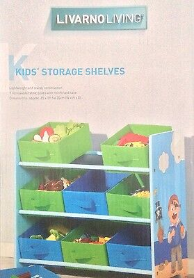 Kids Storage Shelves