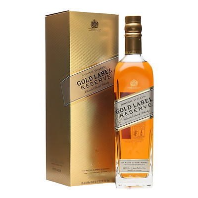 Johnnie Walker Gold Label Res Whisky 750ml GBoxed