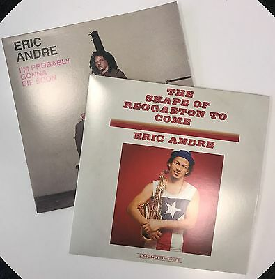 Eric Andre x2 Novelty Fake LP Album Covers Sick Duck I'm Probably Gonna Die Soon