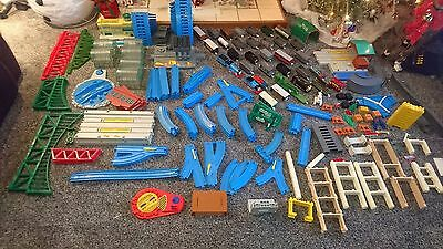 HUGE Bundle THOMAS TANK  Tomy Trackmaster 320+ Pcs 34 Engine Trains Airport