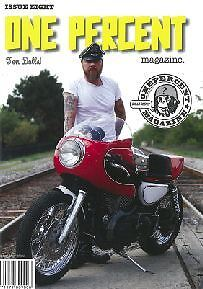 One Percent magazine #8 panshovel chev biscayne love cycles