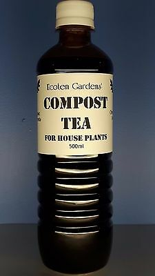 500ml Organic Compost Tea for Houseplants