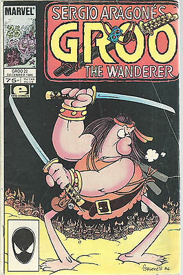 Groo The Wanderer Sergio Aragone Marvel Epic Comics Vol 2 No 22 Dec 1986