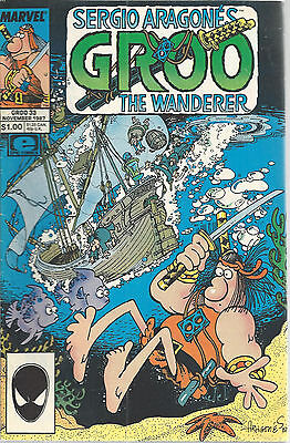 Groo The Wanderer Sergio Aragone Marvel Epic Comics Vol 2 No 33 Nov 1987